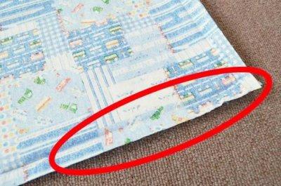 画像1: 敷布団カバー・超ロングサイズ(150cm×80cm)・縛り紐なし